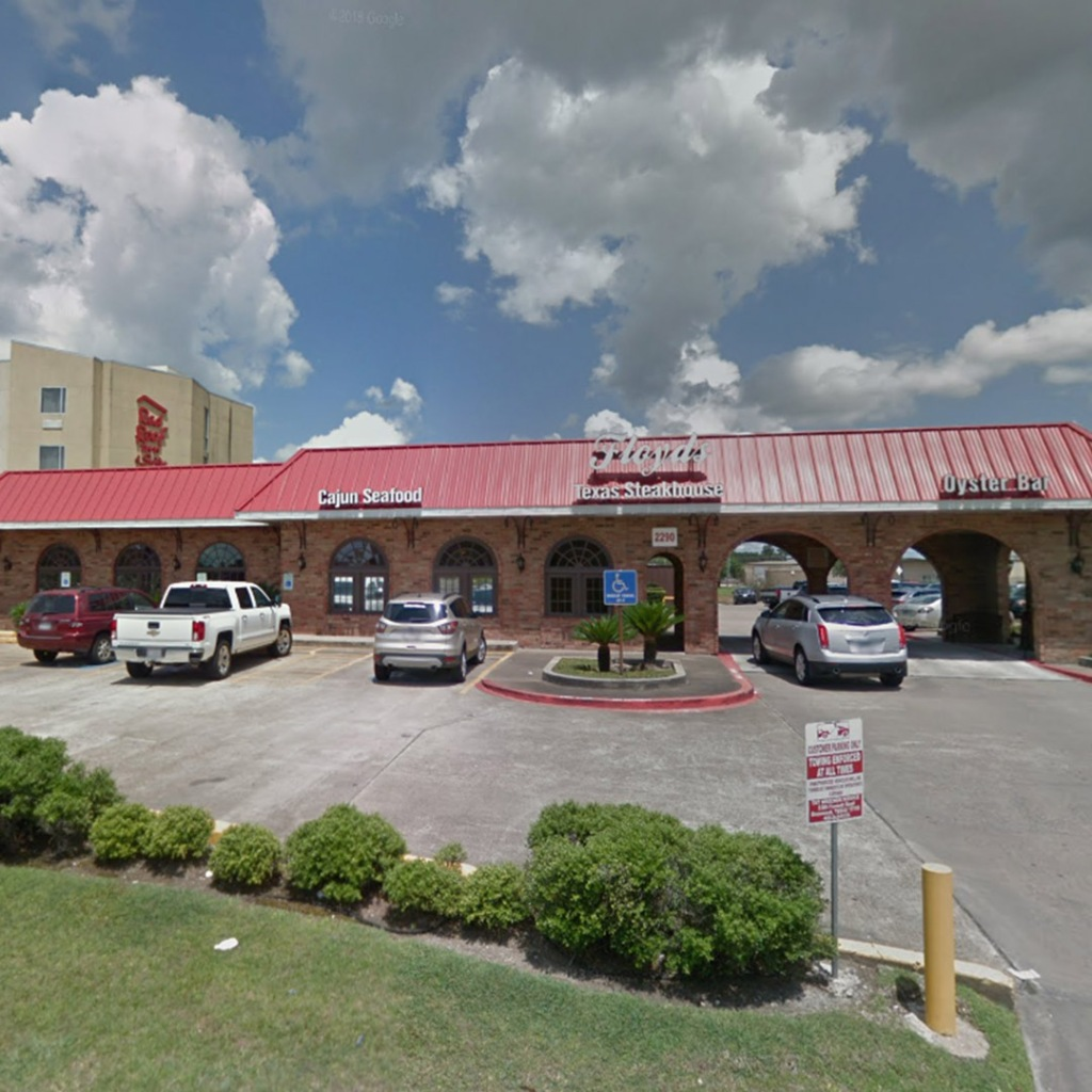 Floyds Seafood restaurant in Beaumont Texas serves cajun food